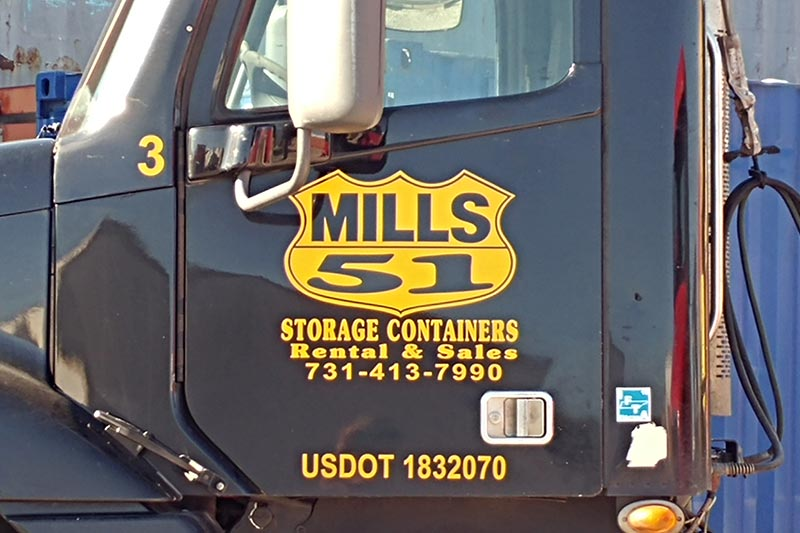 Mills 51 Logo And Truck
